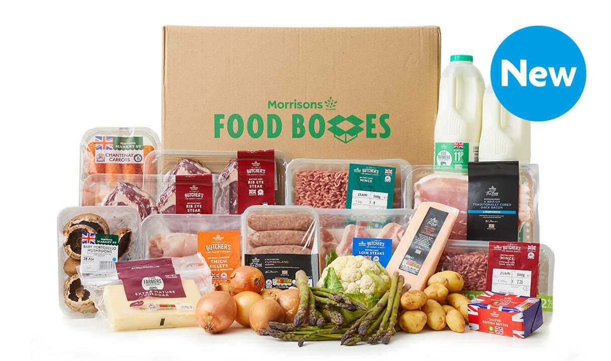 Morrisons launches seasonal food box to support British farmers
