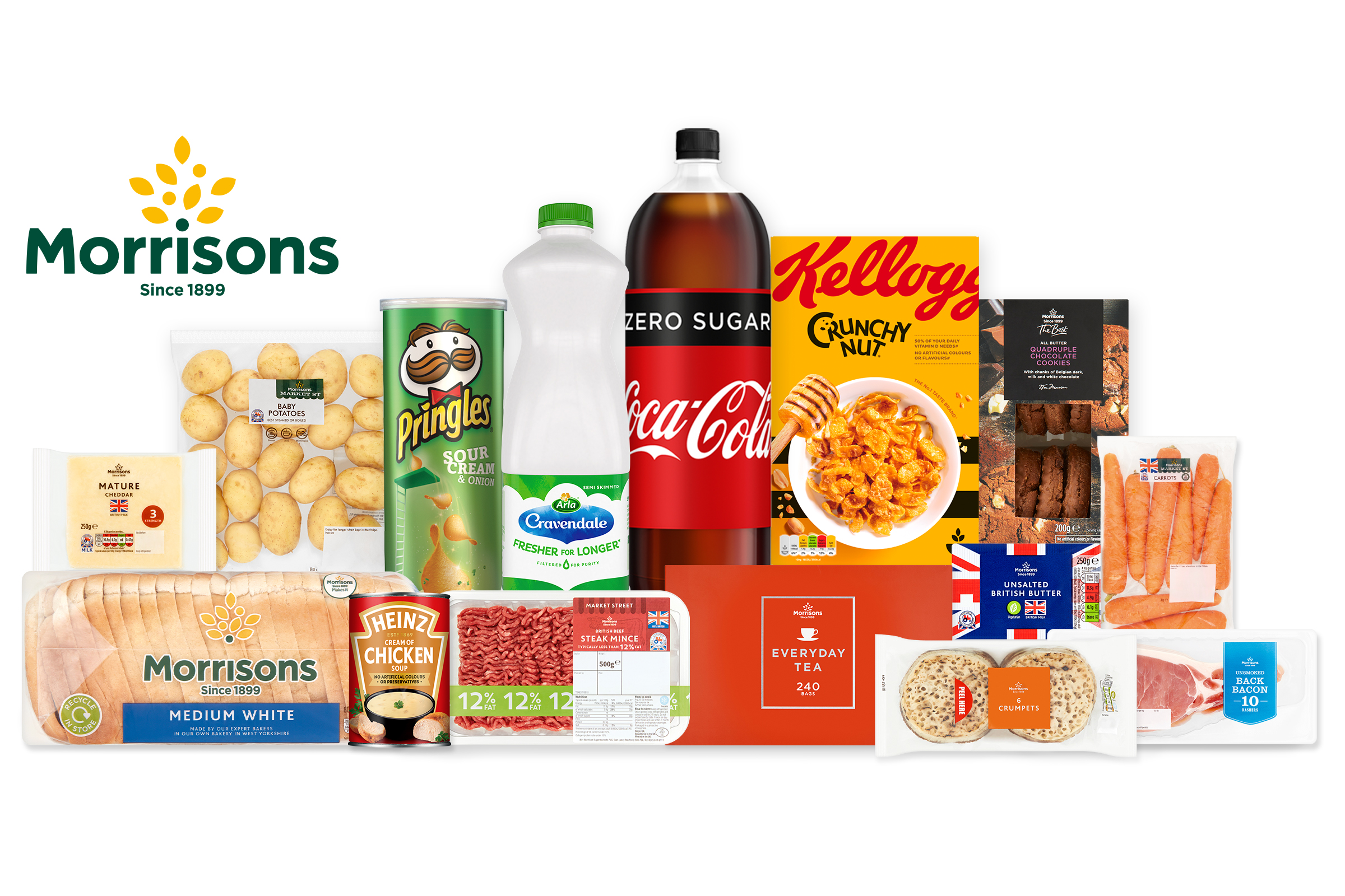 Morrisons And Deliveroo Join Up To Offer Grocery Home Delivery