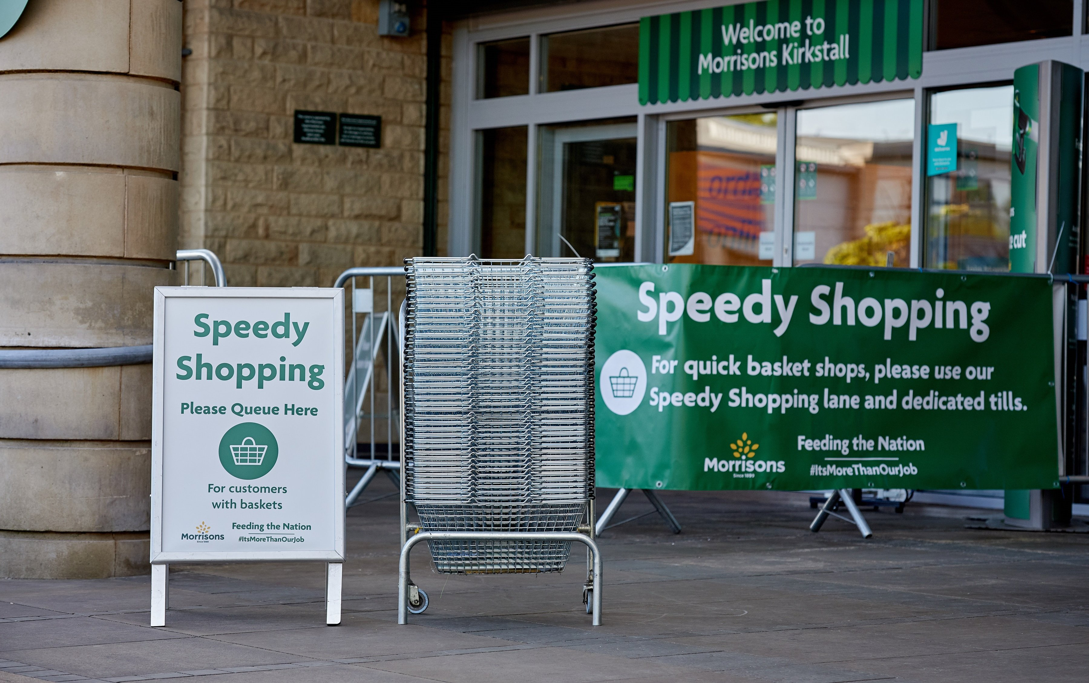 Morrisons introduces 'Speedy Shopping' for basket customers