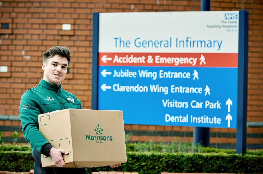 Morrisons launches NHS click and collect food box