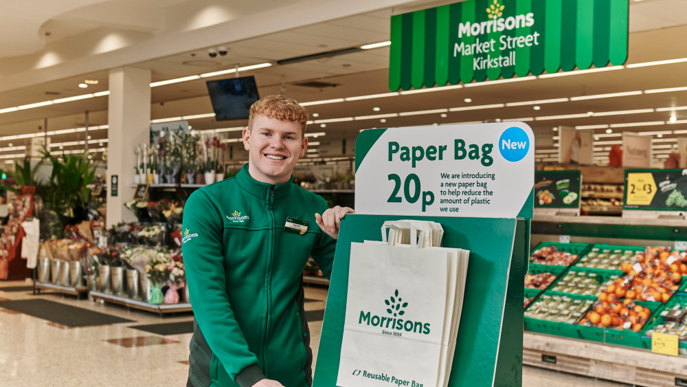 Introducing our 20p paper bags
