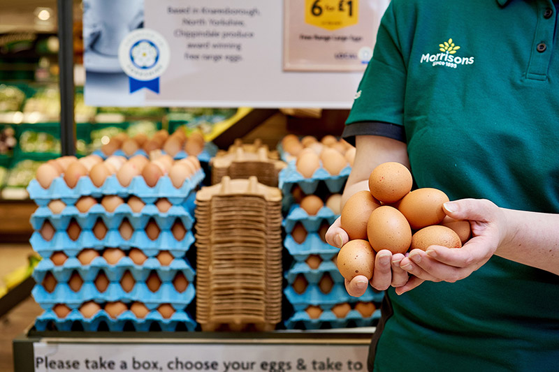 Free Range Eggs - Morrisons Corporate